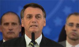 "Bolsonaro a jornalista: ""vontade de encher tua boca de porrada"" . Foto: Arquivo/Marcello Casal/Agência Brasil"