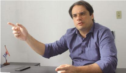 """Palacio: """"nunca tive processo questionando os contratos da época que estive no Consórcio"""". Foto: Arquivo/DR"""