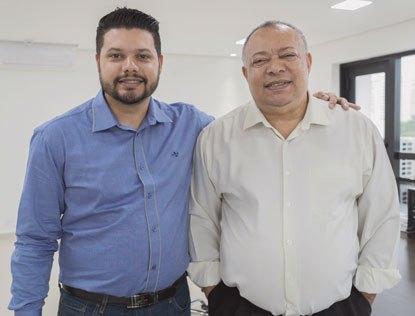 """Jhonny Rich e Marcos Germano: """"queremos devolver o poder ao povo"""". Foto: Arquivo"""