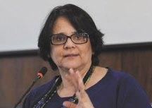 Na quinta-feira, Damares Alves negou que o governo federal proporia mudanças na legislação. Foto: Fábio Rodrigues Pozzebom/Agência Brasil
