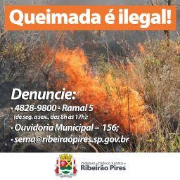 Prefeitura reforça orientações para os moradores que podem colaborar na fiscalização ao fazer denúncias. Foto: Divulgação/PMETRP