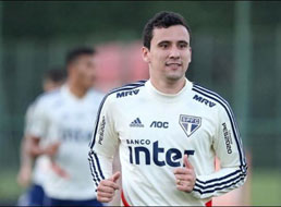 Pablo poderá ser a novidade do São Paulo contra o River Plate