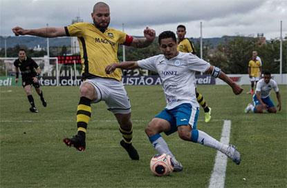 São Bernardo perde do São Bento por 3 a 0 e se complica na Série A2