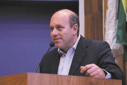 """Mognon: """"posso contribuir com a cidade em outros postos"""". Foto: Arquivo/Oscar Jupiraci/Câmara SBC"""