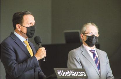 Anúncio do fechamento foi feito hoje pelo governador João Doria. Foto: Governo do Estado de SP