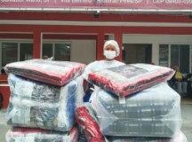 Cidade adquiriu cobertores e kits de higiene para atender famílias. Foto: Divulgação/PMETRP