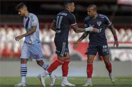 São Paulo empata com o Vasco e perde chance de se igualar aos líderes