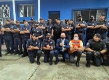 No mesmo evento, a Defesa Civil recebe R$ 300 mil em veículos e equipamentos. Foto: Thiago Benedetti/PMD