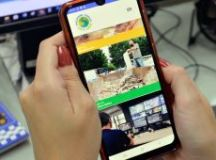 Um dos maiores programas de obras de saneamento da história da cidade também conta com redes sociais próprias. Foto: Divulgação/Semasa