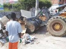 Nesse primeiro mês, o Meio Ambiente executou serviços de zeladoria. Foto: Divulgação/PMD