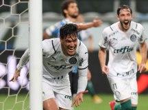 Palmeiras faz 1 a 0 no Grêmio e larga na frente na decisão da Copa do Brasil
