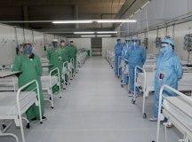 Hospitais particulares da capital atingem 100% de ocupação na UTI para covid. Foto Ilustrativa/Hospital de Campanha UFABC/Helber Aggio/PSA