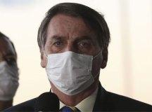 Bolsonaro insiste em postura contra isolamento e divulga protesto contra Ibaneis. Foto: Marcello Camargo/ABr