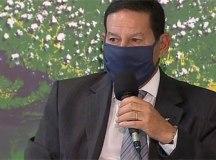 'Única saída é vacinar todo mundo, o resto é paliativo', diz Mourão. Foto: Reprodução/TV Brasil