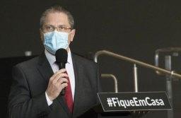"""Gorinchteyn: """"queremos evitar colapso no atendimento"""". Foto: Governo do Estado de SP"""