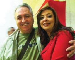 Odair e Lilian Cabrera. Foto: Reprodução Facebook