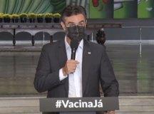 """Rodrigo Garcia: """"já passamos de mais de dez milhões de doses aplicadas"""""""