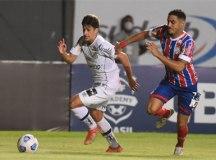 Santos leva três gols em sete minutos e perde para o Bahia na estreia do Brasileirão