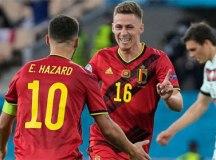 Bélgica se fecha, elimina Portugal e enfrenta Itália nas quartas da Eurocopa