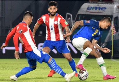 Brasil supera Paraguai em Assunção e mantém 100% nas Eliminatórias