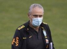 Tite mostra preocupação com gramado para jogo com a Colômbia