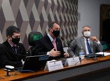 Crise no Amazonas: à CPI Campêlo diz que governador foi pressionado a revogar medidas restritivas por manifestação popular. Foto: Edilson Rodrigues/Agência Senado