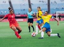 Brasil perde do Canadá nos pênaltis e dá adeus ao sonho do ouro em Tóquio
