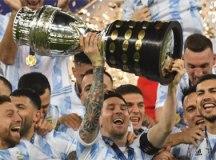 Argentina bate o Brasil, conquista a Copa América e acaba com jejum de títulos