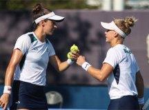 De virada, Stefani e Pigossi eliminam favoritas e vão à semi das duplas em Tóquio