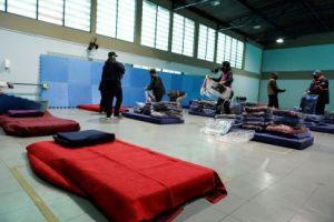 Capacidade dos albergues foi aumentada de 70 para 155 vagas, com dois novos locais de acolhida, reforço na alimentação e entrega de cobertores extra. Foto: Divulgação/PMD