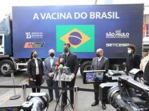 Doses liberadas hoje fazem parte do segundo contrato firmado com o Ministério da Saúde, de 54 milhões de vacinas. Foto: Governo do Estado de SP