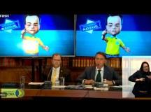Em transmissão ao vivo pela TV Brasil, Bolsonaro exibiu vídeos e teorias que já foram desmentidos pelo Tribunal Superior Eleitoral. Foto: Reprodução/TV Brasil