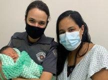 PMs salvam recém-nascido de quatro dias em Santo André