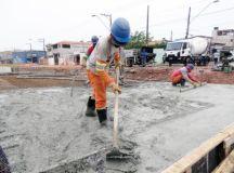 Semasa está construindo mais uma passagem, localizada na altura da rua Assis Chateaubriand, no Parque Gerassi. Foto: Divulgação/Semasa