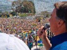 Bolsonaro anuncia reunião de Conselho e repete que manifestação é 'ultimato'. Foto: Reprodução Facebook