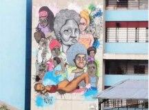 Obra retrata a força da mulher, em especial da mulher negra. Foto: Divulgação