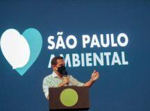 """Doria: """"SP é o primeiro estado do Brasil a ter o ICMS Ambiental"""". Foto: Governo do Estado de São Paulo"""