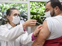 Cidades do ABC intensificam vacinação neste final de semana. Foto: Adriana Horvath/PMD