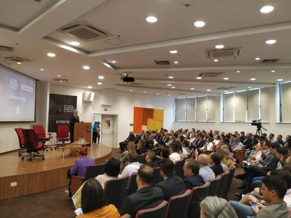 Seminário reúne todos os anos empresários e executivo do mercado imobiliário. Foto: Divulgação