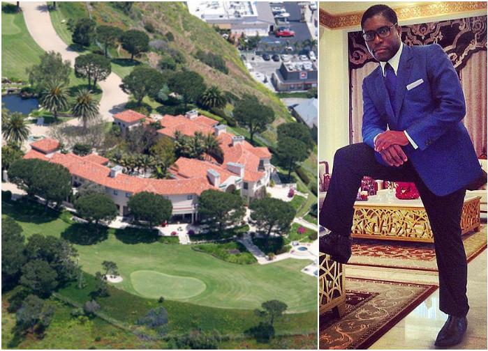La casa de Teodorín en Malibu, tiene cancha de golf, 8 habitaciones, diez baños y un parqueadero para 8 carros.