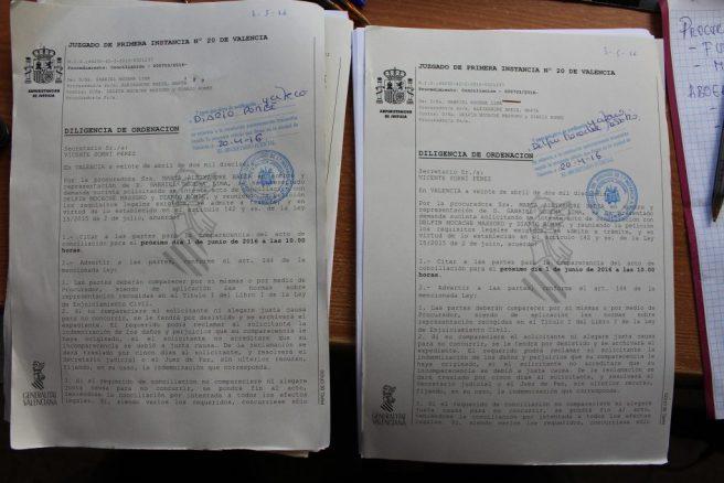 Una demanda contra Delfin Mocache Massoko. Otra contra la COMPAÑÍA DIARIO ROMBE