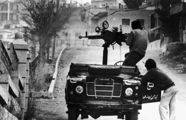 Resultado de imagen de Guerra Civil Libanesa