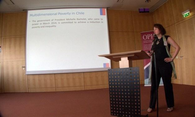 Chile analiza metodologías para medir pobreza y vulnerabilidad con enfoque multidimensional