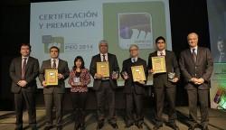 Mutual de Seguridad CChC premió a empresas destacadas en la prevención de riesgos durante 2013