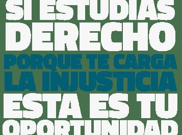 ¡Atención estudiantes de Derecho! Participa del Desafío Pro Bono presentando un proyecto social que promueva el acceso a la justicia.