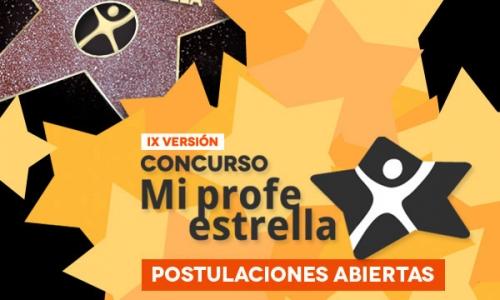 """Se abre IX versión del concurso """"Mi Profe Estrella"""" en educarchile.cl"""