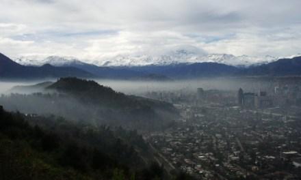 La contaminación del aire es uno de los problemas más relevantes para los chilenos