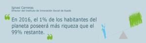 Columna: Desigualdad extrema. Por: Ignasi Carreras, director del Instituto de Innovación Social de ESADE Vía @ESADEisocial