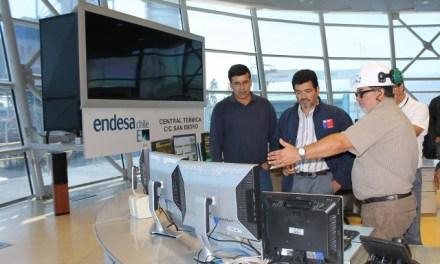 Seremi de Energía visita Complejo a Gas Natural San Isidro
