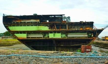Necesitamos más acero. Esta es una manera de extraerlo de forma segura de buques viejos en @el_BID